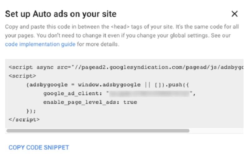 Comment voir la publicité AdSense sur WordPress