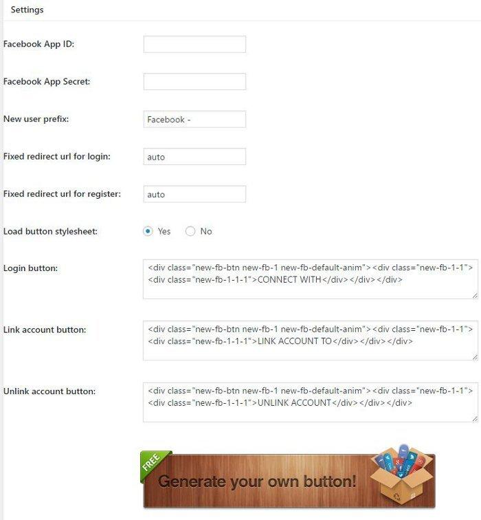permettre aux utilisateurs de se connecter via le login Facebook