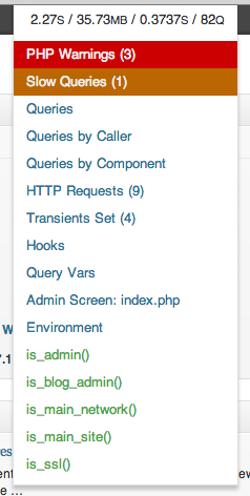 Surveillez les performances de votre site WordPress avec le plugin Query Monitor
