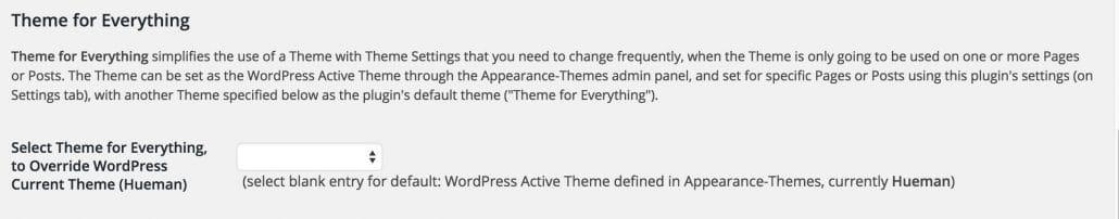 Comment utiliser plusieurs thèmes sur le même site WordPress