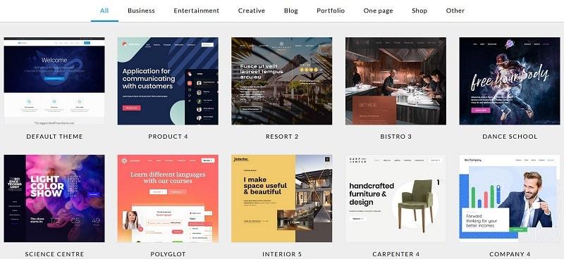 des thèmes premium fantastiques pour WordPress