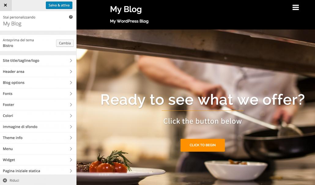 Comment changer de thème sur WordPress