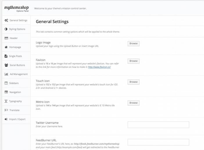 Les thèmes WordPress les plus rapides sur le web : MyThemeShop