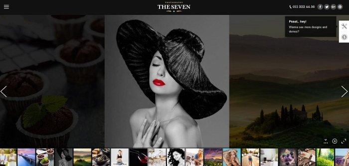 Thème The7 pour WordPress - Revue de SITECLEENMAIN