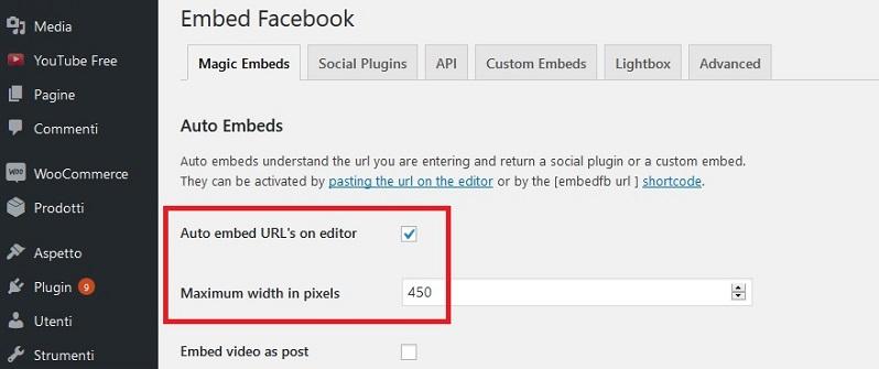 Comment intégrer une vidéo Facebook dans WordPress