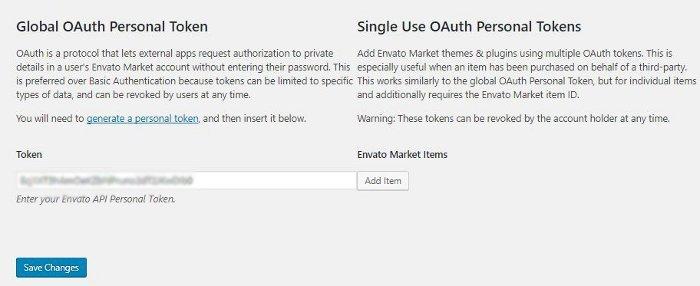 Comment mettre à jour un thème Themeforest avec le plugin Envato