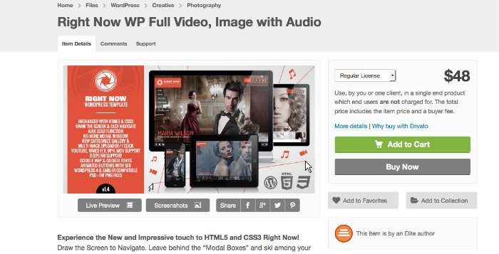 Thèmes WordPress pour les artistes