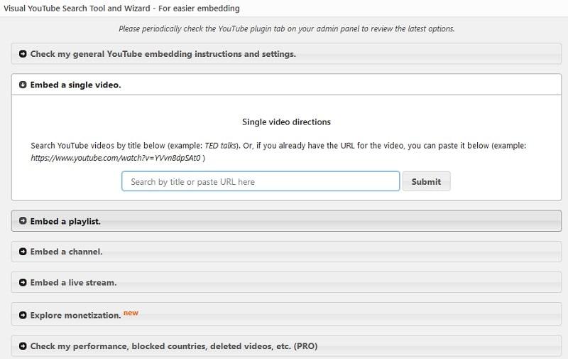 Intégrez WordPress à YouTube parfaitement et facilement
