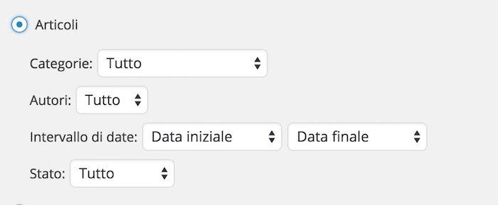 """Sauvegardez votre contenu avec la fonction """"Exporter"""