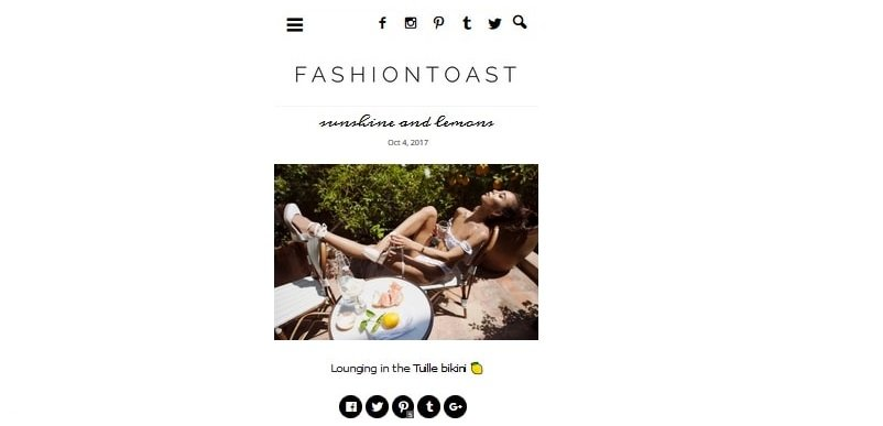 Ce que les 5 blogs de mode les plus populaires sur le net ont en commun