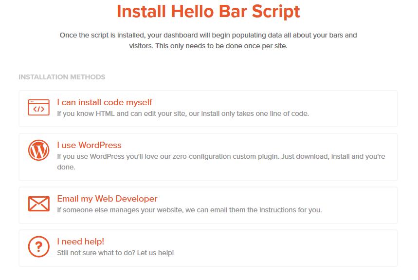 Comment obtenir plus d'abonnés à la newsletter en utilisant la Hello Bar
