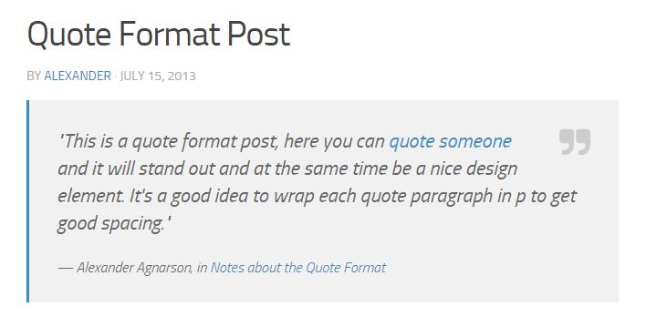 10 formats de messages WordPress que vous pouvez créer sur votre site Web