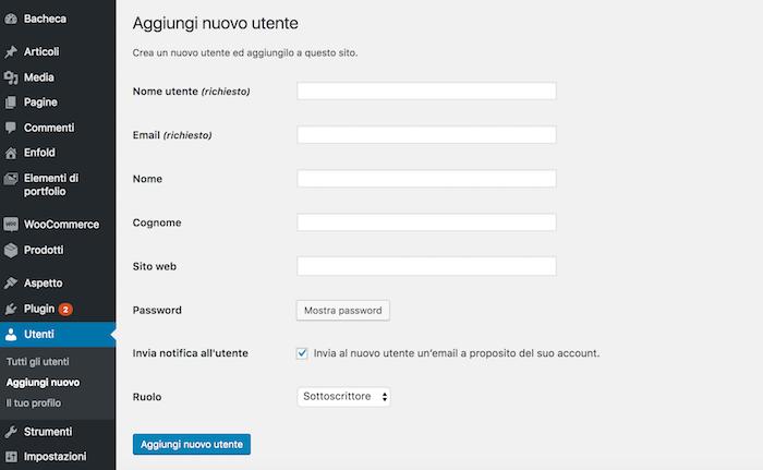 Comment créer des utilisateurs dans WordPress et assigner des rôles