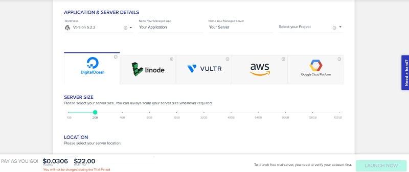 Cloudways Hosting : révision du service de paiement à l'utilisation