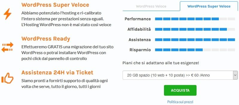 Le meilleur hébergement italien en 2019 pour créer votre site