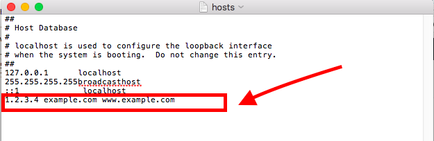 Comment modifier le fichier hosts pour accéder à un site avant la propagation d'un domaine