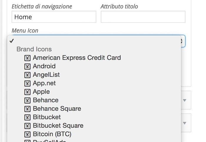 Comment ajouter des icônes dans le menu de votre site WordPress