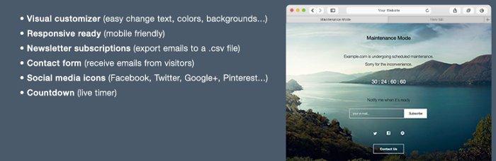 3 plugins pour mettre votre site WordPress en maintenance