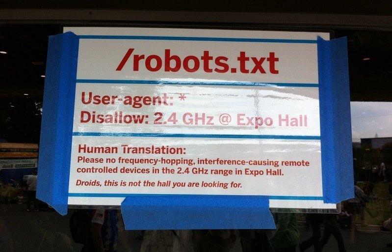 Aide au fichier robots.txt pour fournir des instructions aux moteurs de recherche