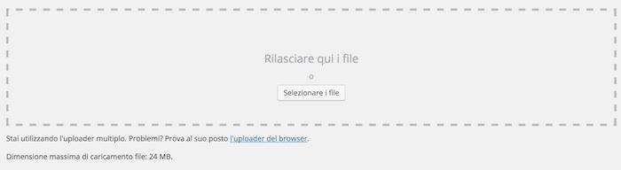Augmenter la taille maximale des fichiers à télécharger vers WordPress