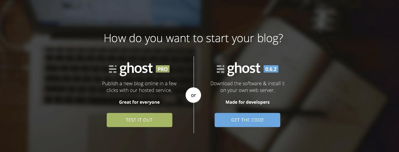 Blog Ghost, comment fonctionne cette nouvelle plateforme
