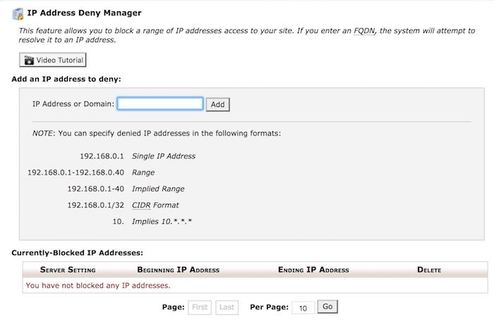 Comment bloquer des adresses IP spécifiques de votre site WordPress
