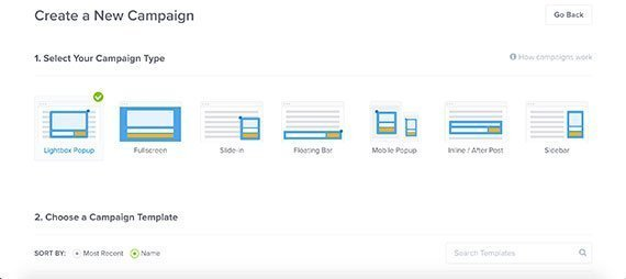 Comment créer des fenêtres pop-up avec OptinMonster