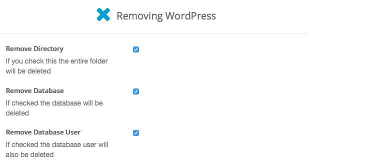 Comment désinstaller WordPress facilement et en toute sécurité