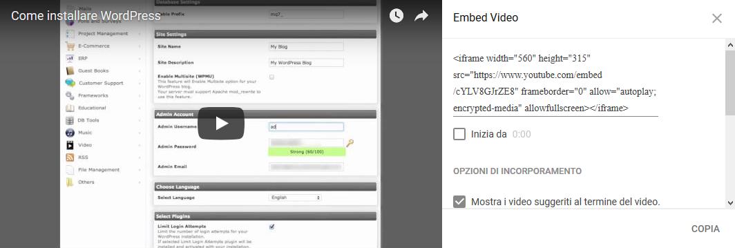Comment mettre une vidéo YouTube sur WordPress