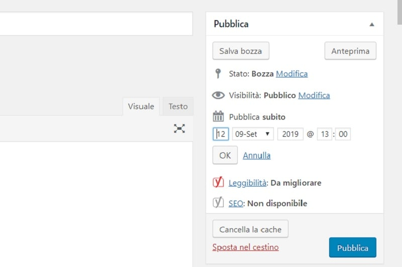 Comment programmer des messages à l'avance sur WordPress