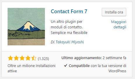 Créer un formulaire de contact avec le formulaire de contact 7