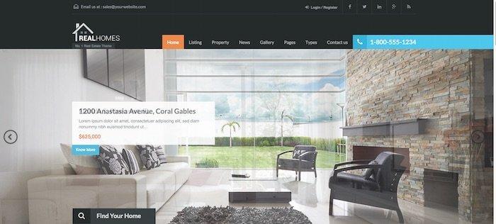 Les meilleurs thèmes WordPress pour une agence immobilière