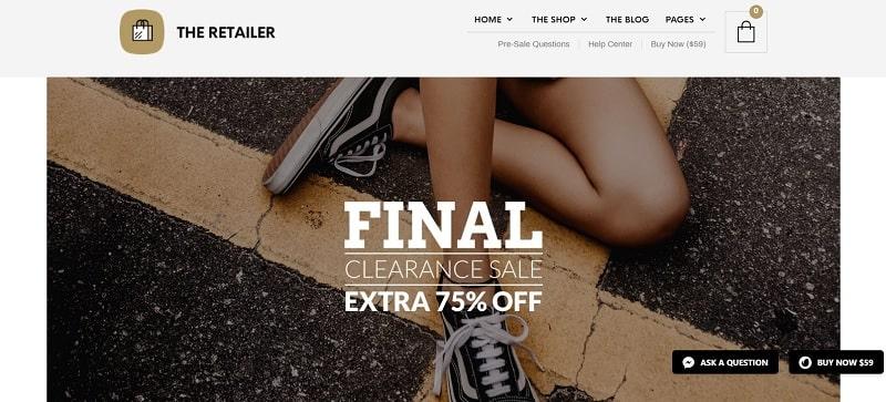 Meilleurs thèmes WooCommerce pour un site de mode créé avec WordPress