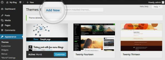 Thèmes WordPress gratuits : mais pourquoi les déconseillons-nous ?