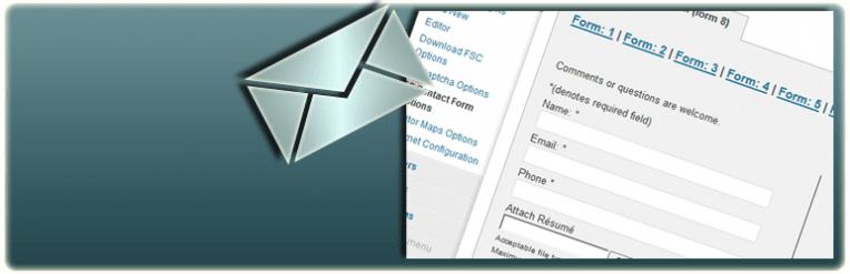 insérer un formulaire de contact sur WordPress pour vendre