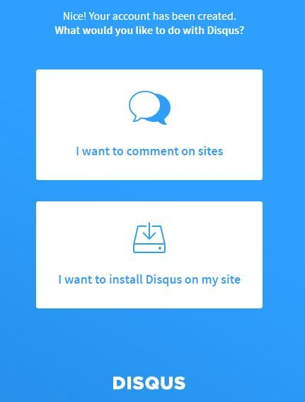 la plate-forme de commentaires sur WordPress